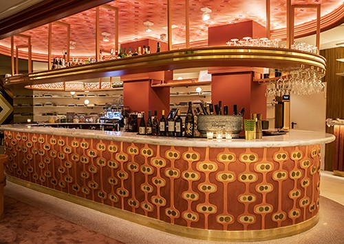Club Sushita, un restaurante de cocina japonesa de fusión inspirado en estilo Art Déco Glam