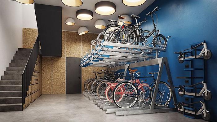 espacios aparcamiento contemporaneos