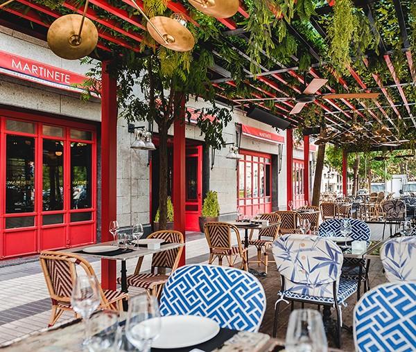 Martinete, un restaurante con un toque francés en Madrid
