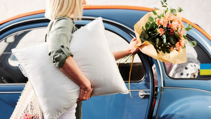 Almohada suave de IKEA