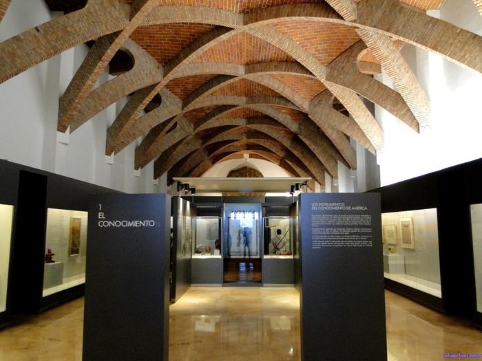 Cúpula interior del Museo de América en Madrid
