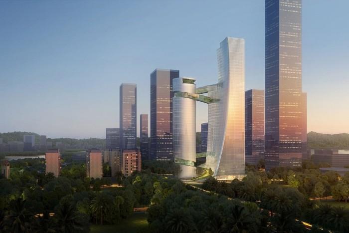 nuevo edificio shenzhen bay