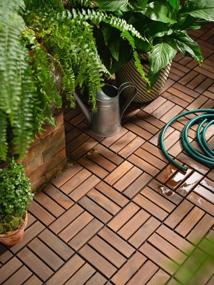 Suelo especial para exteriores como jardines o terrazas IKEA