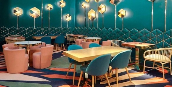 interior larios cafe