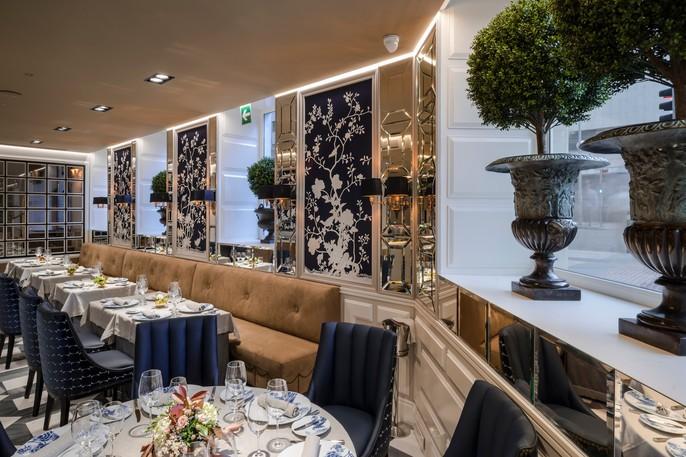 Hotel Heritage Haroma Restaurante interior deco