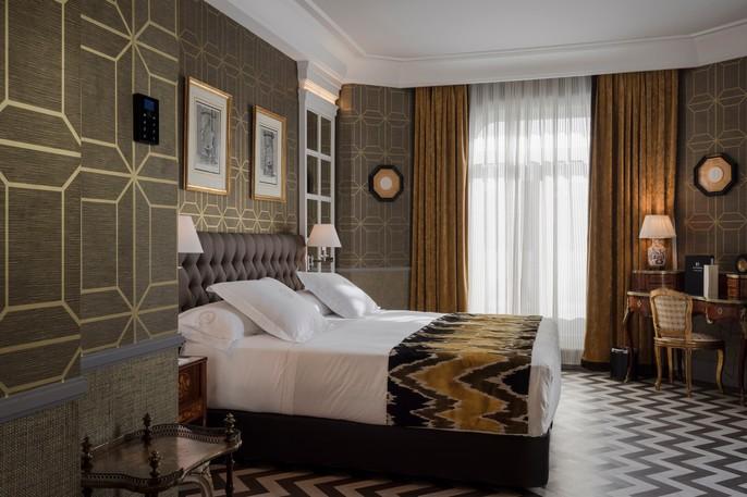 habitación Hotel Heritage Madrid