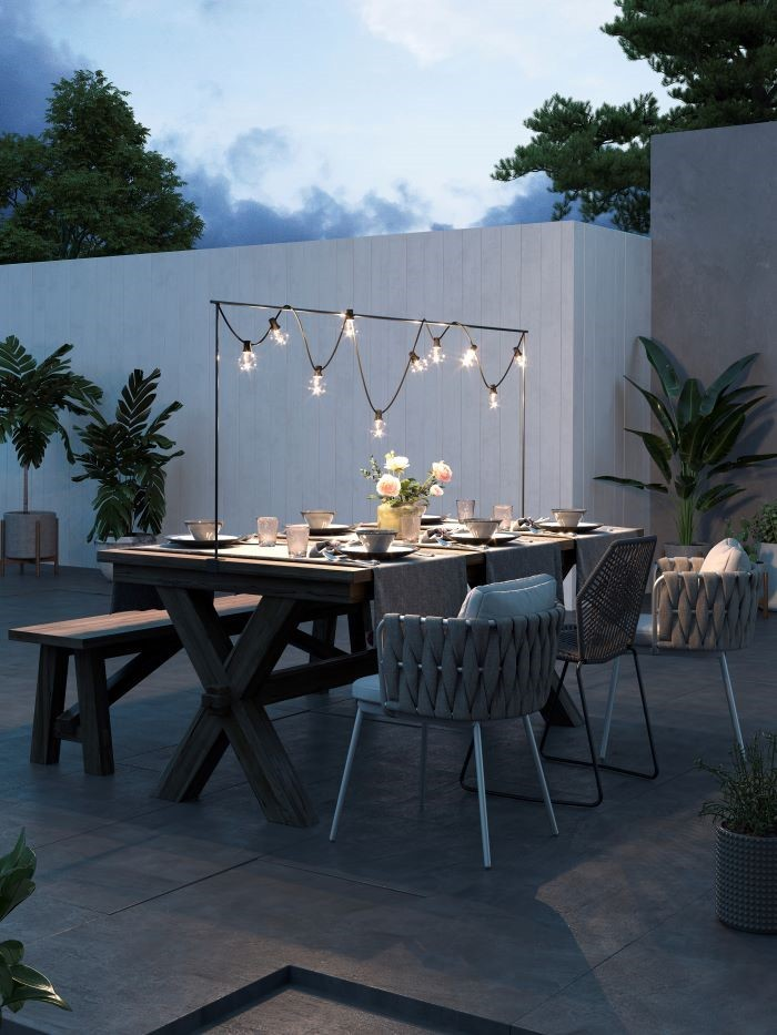Iluminación solar para tu jardín con Leroy Merlín