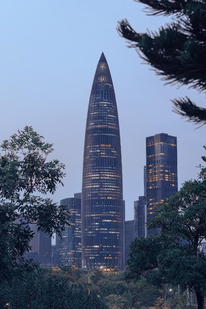 edificio puntiagudo spring bamboo
