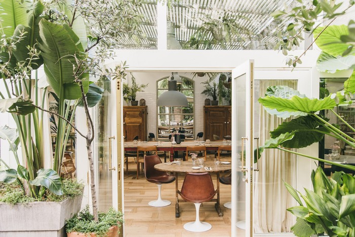 The Greenhouse restaurante Hotel Pulitzer Barcelona