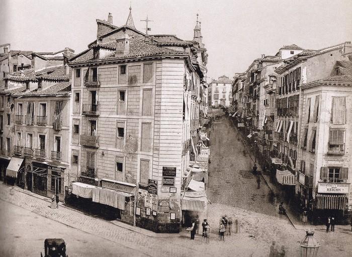 Fotografía Puerta del Sol en el siglo XIX