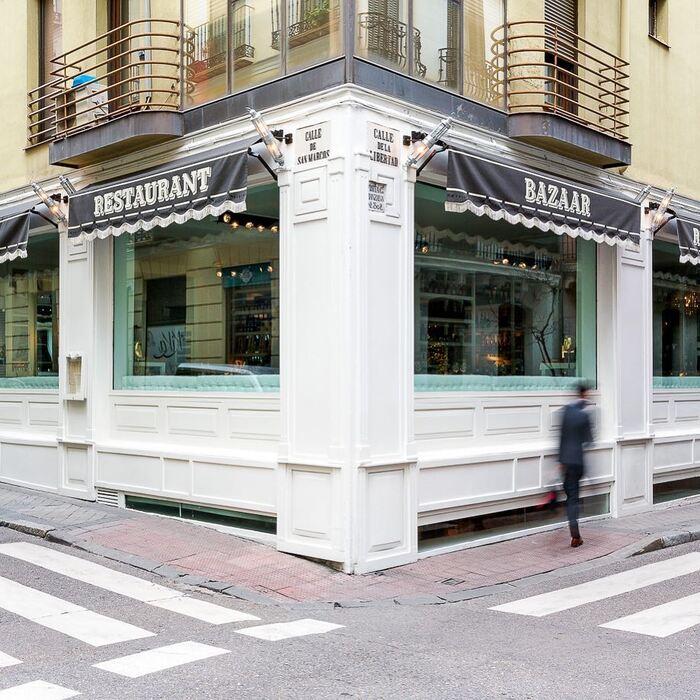 exterior restaurante Bazaar en Madrid