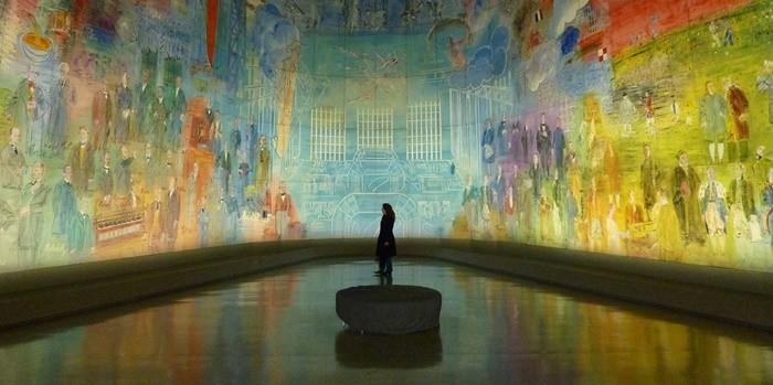 Las alas del arte a nivel internacional: Fundación Thoma y el Phi Centre
