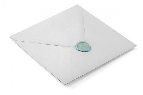 sello de lacre para invitación de boda