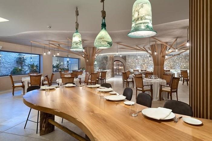 Zona de restaurante en el Hotel LJS Ratxo en Mallorca