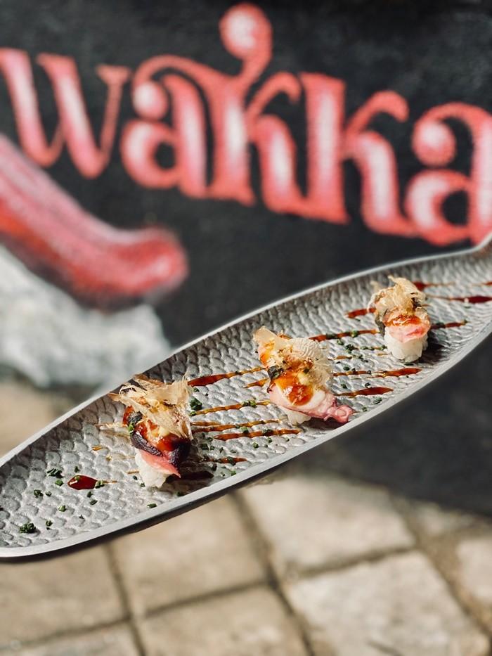 sushi plato decoracion wakka