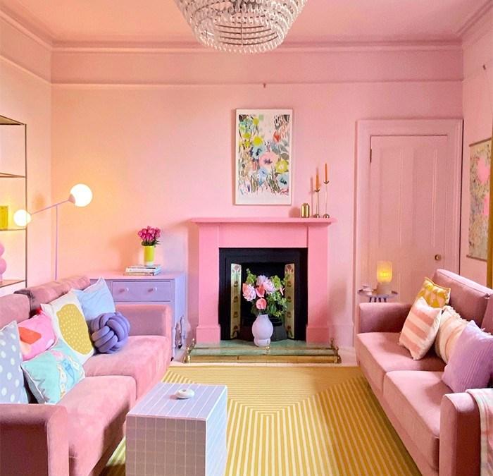 Explosión de colores pastel: La casa de Jay Jennings