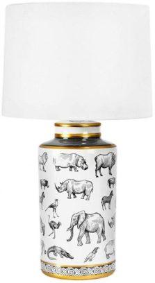rinoceronte dibujos lampara westwing