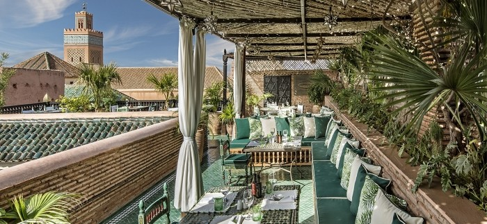 La Sultana Marrakech: un hotel de estilo árabe rico en detalles