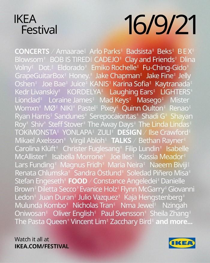 Poster de un festival IKEA