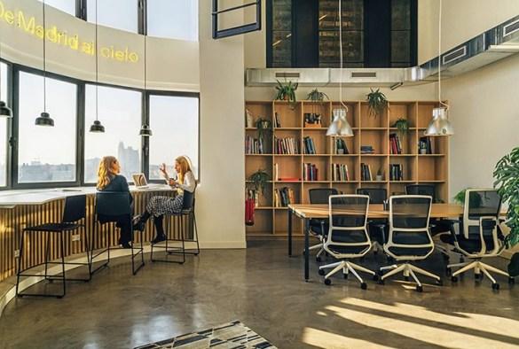 espacios de trabajo con vistas madrid coworking