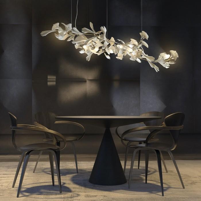 lampara porcelana artesanal