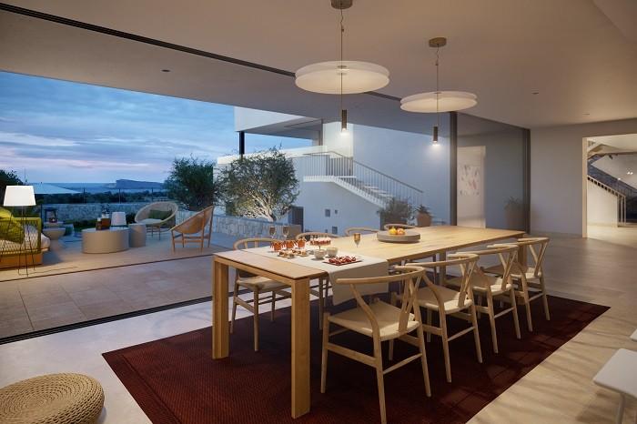 vivienda de lujo con vistas en Ibiza