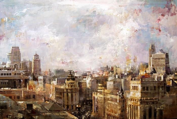Panorámica de Madrid en pintura abstracta y expresionista
