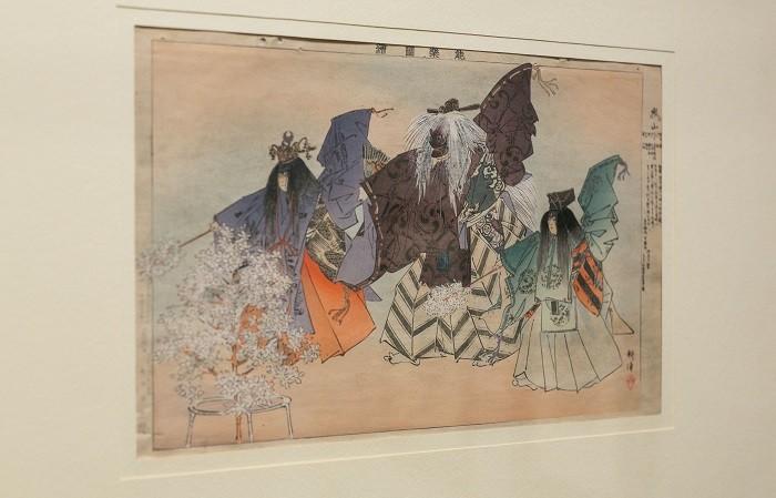 cuadro de la exposición de cultura japonesa