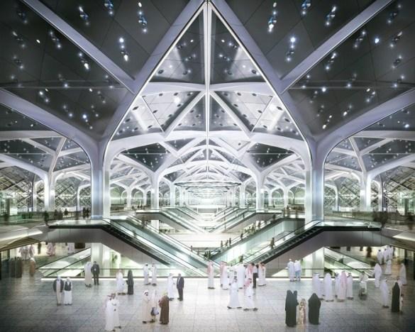 gran estación de tren en Yeda