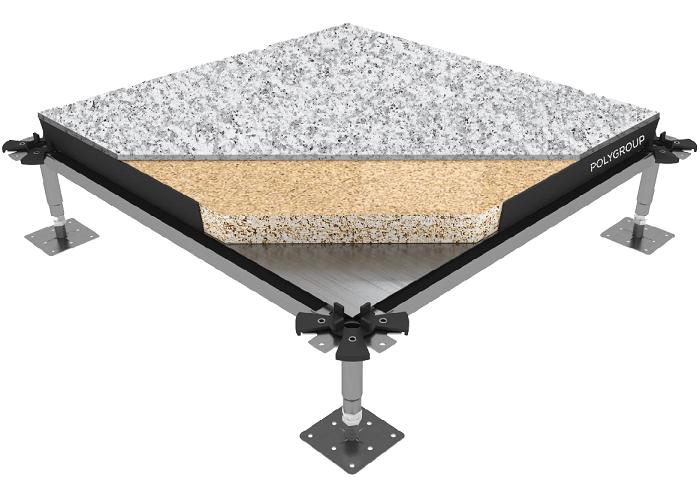 vista del suelo gamaflor pac por dentro con capas