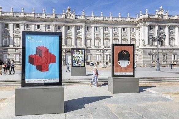 exposición de carteles en Madrid