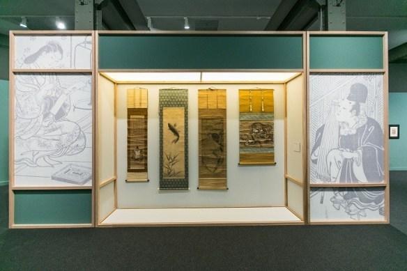 espacio de la exposición japonesa en Madrid