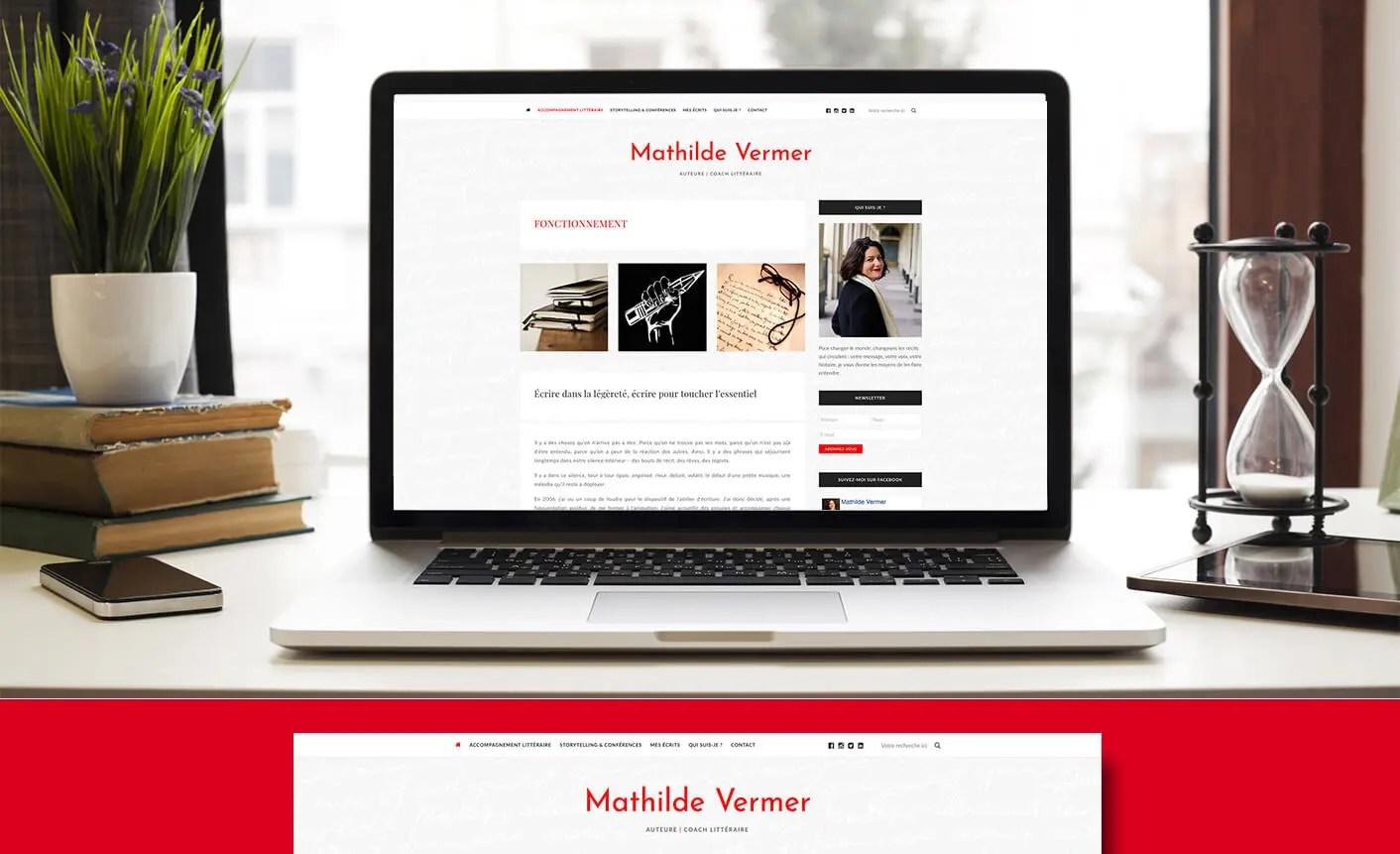 MATHILDE VERMER // Auteure | Coach Littéraire | MOOVERFLOW ...