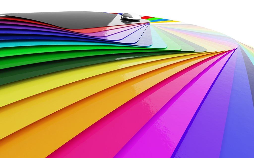 3m colour swatches