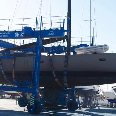 sailing yacht wrap