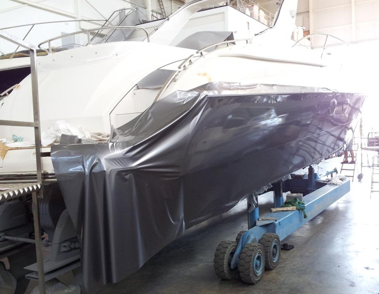 yacht wrapping yacht wraps