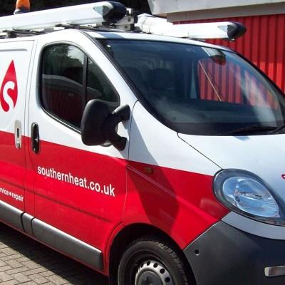 fleet van graphics london