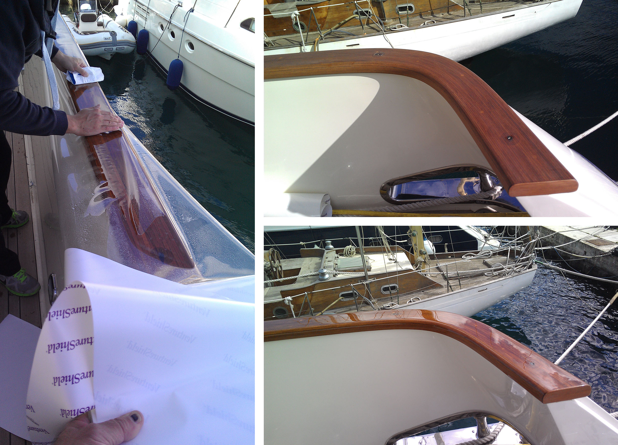 3m ventureshield paint protection film for yachts