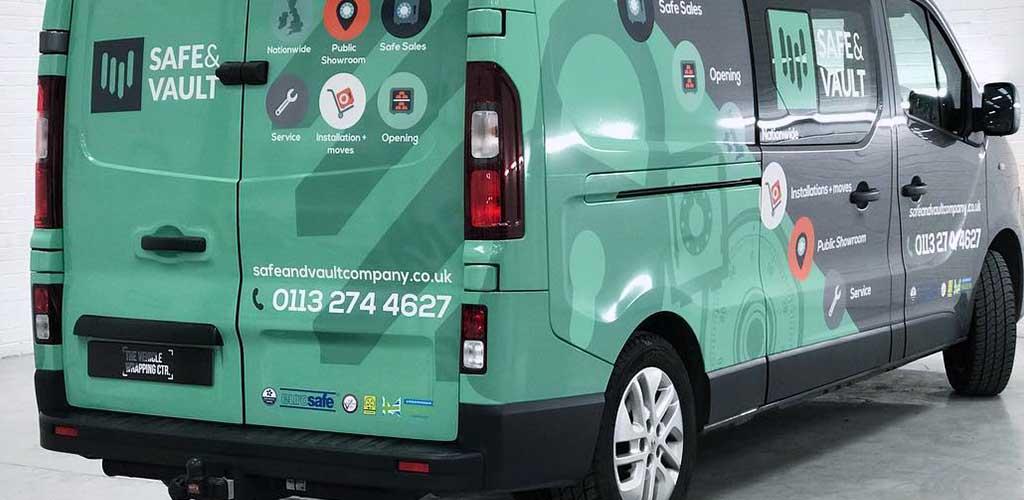 Vehicle Graphics Nationwide UK
