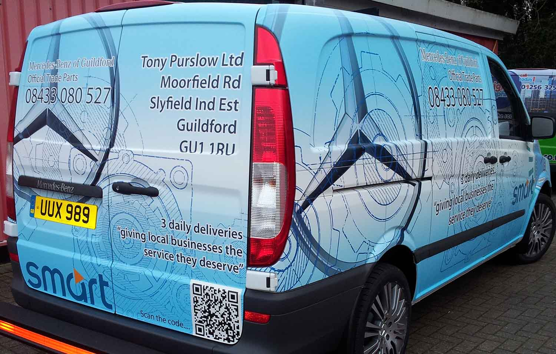 Vehicle Wrapping - Digital Wraps in London - Car Wraps, Van Wraps, Truck Wraps, Lorry Wraps. Printed Wrapping.