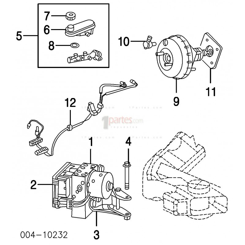 Servofreno / Hidrovac / Brake Booster|Dodge|Intrepid
