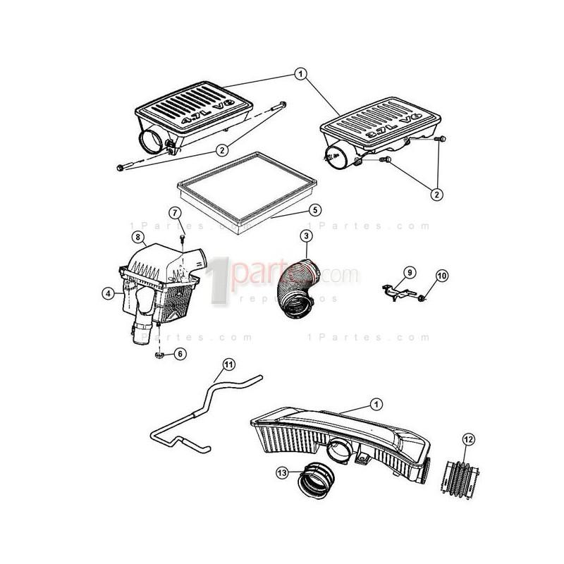 Acoplador|Jeep|Grand Cherokee|Dodge|Grand Caravan|Chrysler