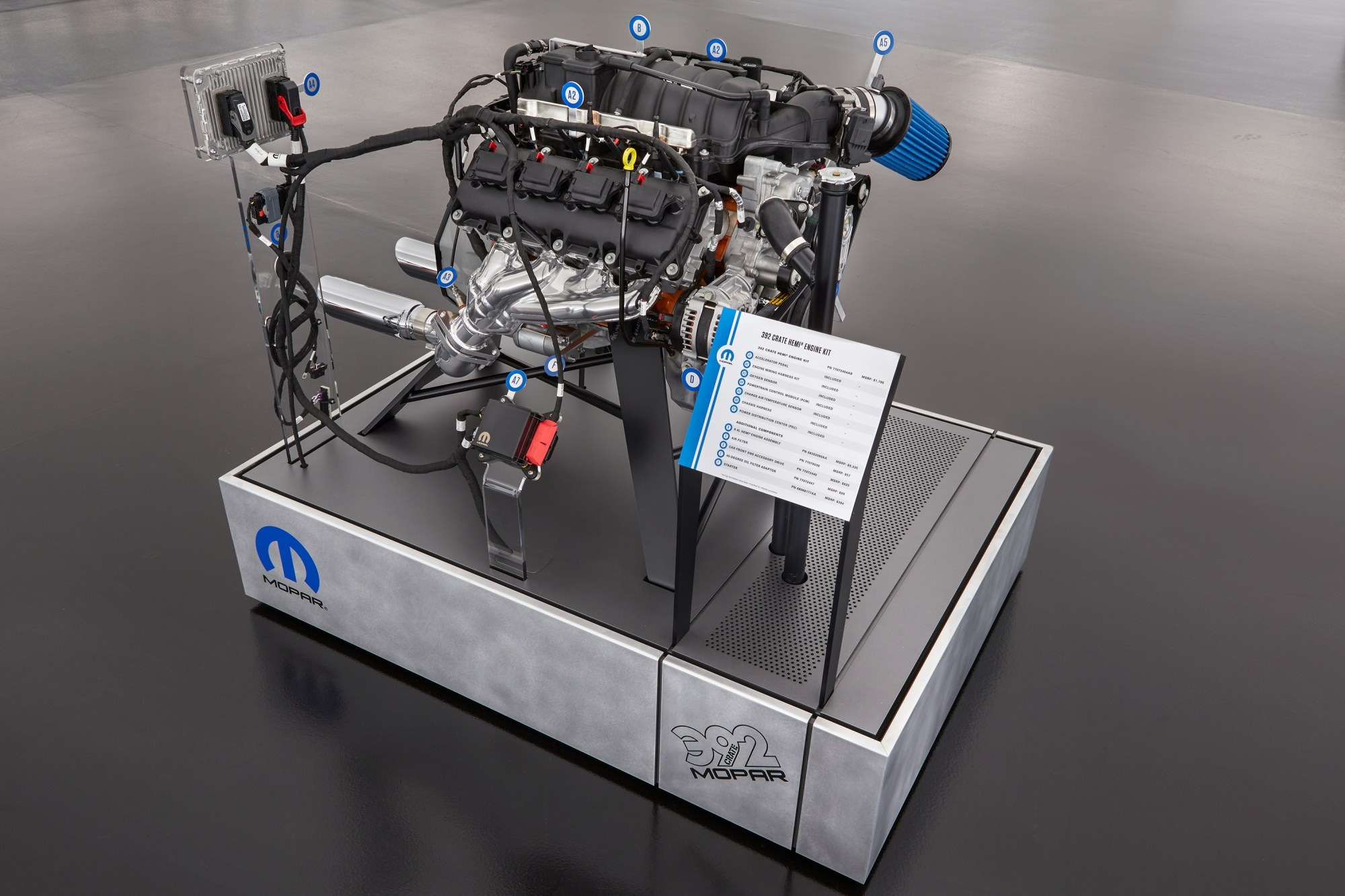 hight resolution of swap a modern hemi into your classic mopar with mopar s new crate hemi engine kits mopar connection magazine a comprehensive daily resource for mopar