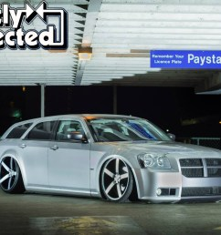 ron palma of surrey british columbia first saw a dodge magnum owned by nba basketball player carmelo anthony back in 2004 in dub magazine  [ 1200 x 800 Pixel ]