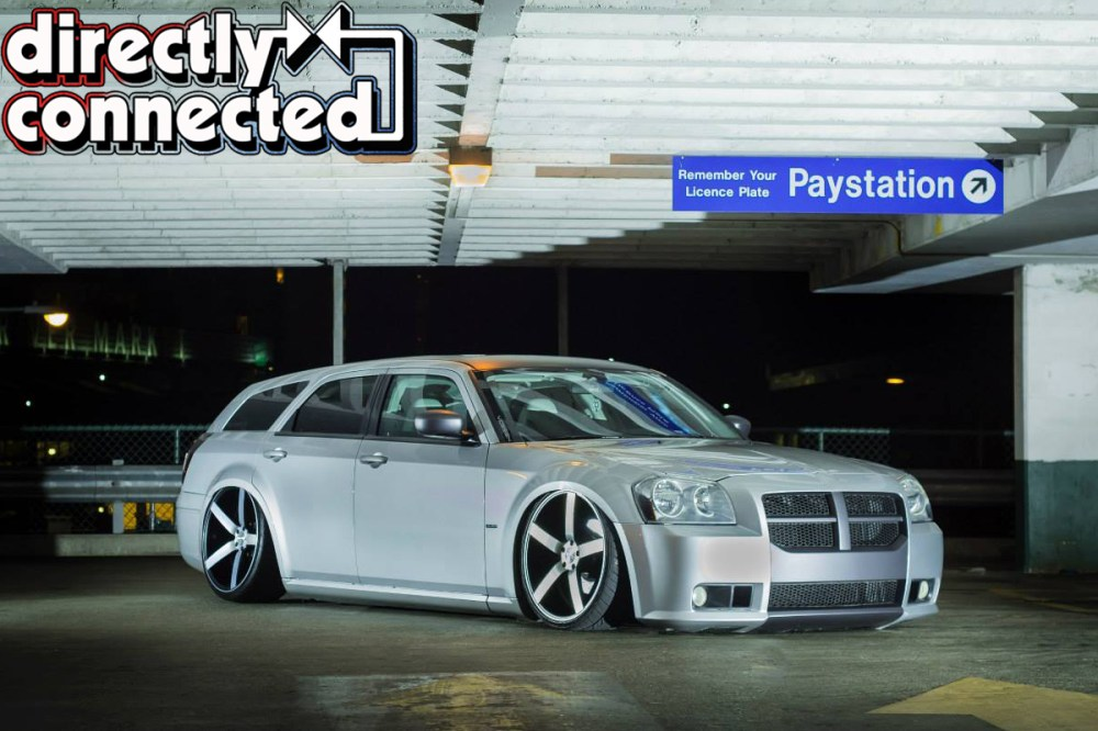 medium resolution of ron palma of surrey british columbia first saw a dodge magnum owned by nba basketball player carmelo anthony back in 2004 in dub magazine