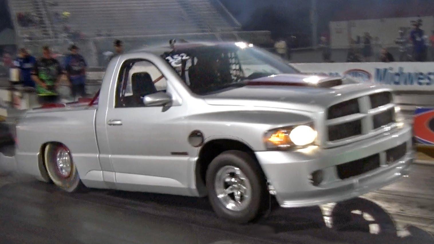 Video World Record Holding 7 Second Dodge Ram SRT 10
