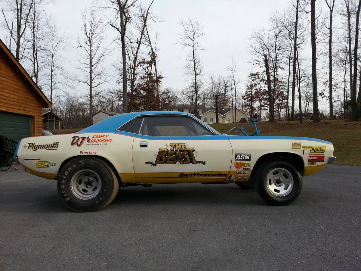 Ebay Deal Of The Day Original 1970 Hemi Cuda Race Car