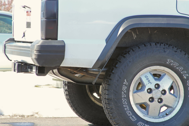 flowfx cat back exhaust for the jeep xj