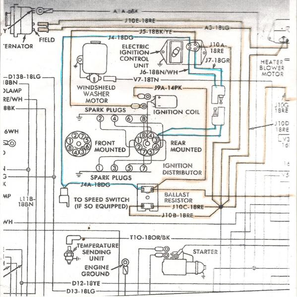 78 Dodge 318 Wiring Diagram Mopar Forums