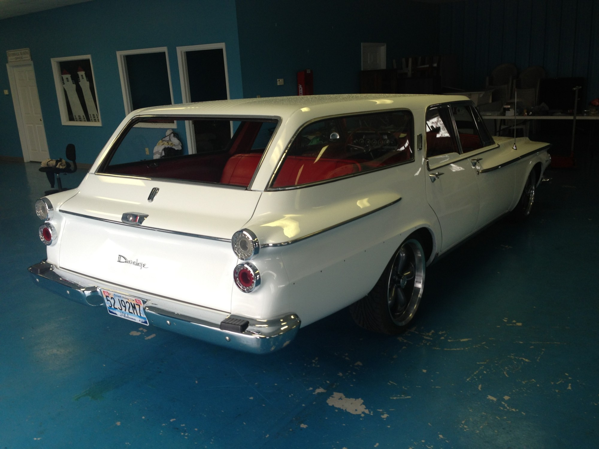 hight resolution of 1962 dodge dart 440 station wagon molding dart wagon right rear